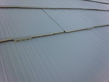 縁切り部材も確り取付けてあります。排水効果は抜群です。
