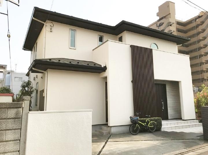 外壁屋根塗装リフォーム事例