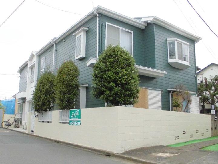 アパート外壁屋根塗装リフォーム事例
