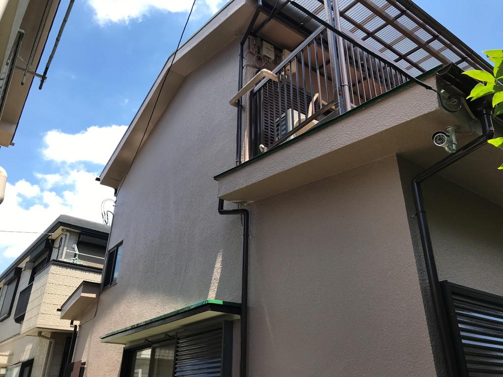 外壁屋根リフォーム事例