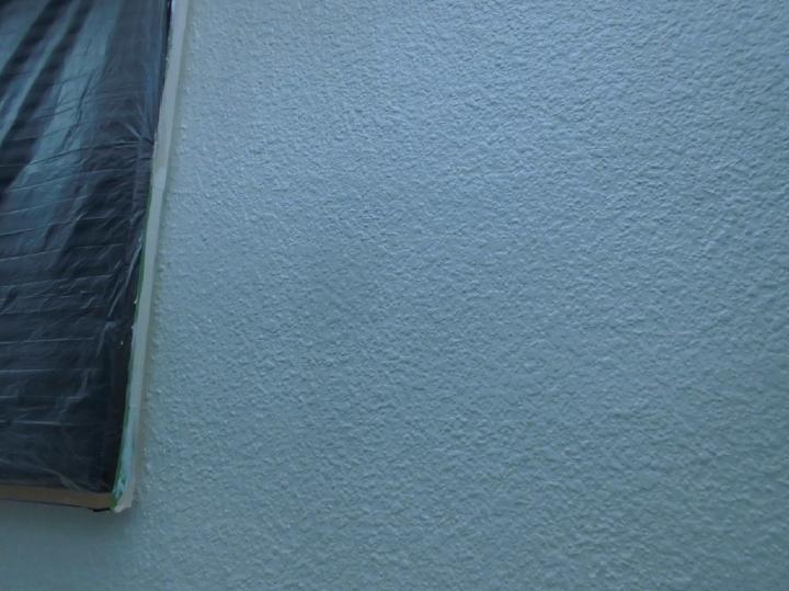 ていねいな3回塗りにて、外壁の塗装が完了いたしました。