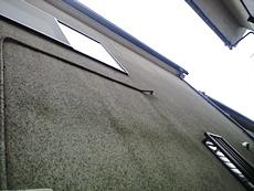 外壁には汚れ、藻やコケが発生していました。