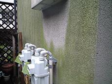 ベランダ床は塗膜が剥がれてしまい、防水性能が落ちていました。