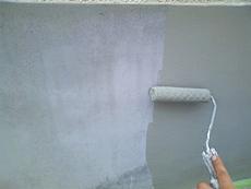 門壁も下塗り、中塗り、上塗りを行い仕上げます。